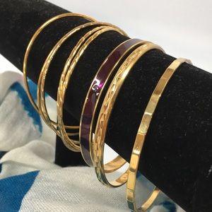Set of 8 Bangle Bracelets